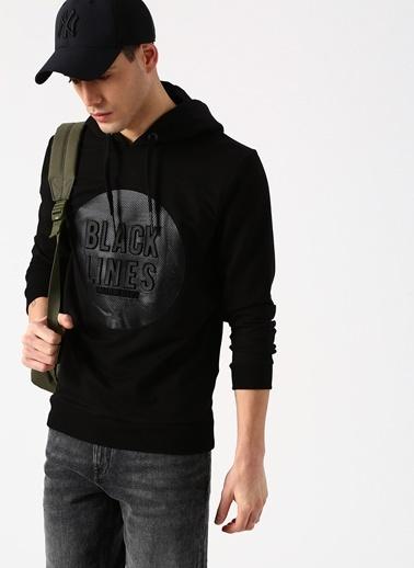 North Of Navy Sweatshirt Siyah